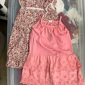 2 girls GAP dresses size 3T